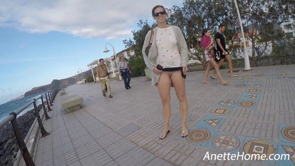 flashing under min nederdel