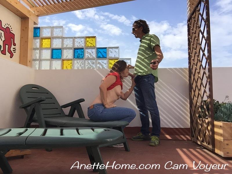 sex på terrassen